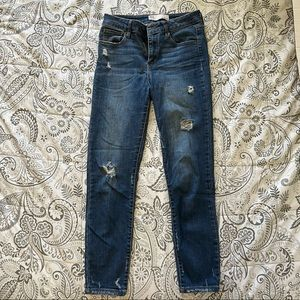RSQ Jeans Distressed Cali High Rise Jeans Size 1